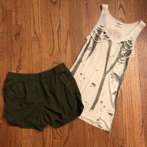 Miss Me and Madewell Together Sz Small